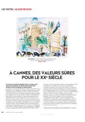 Gazette Drouot A Cannes, des valeurs sûres pour le XXe siècle.