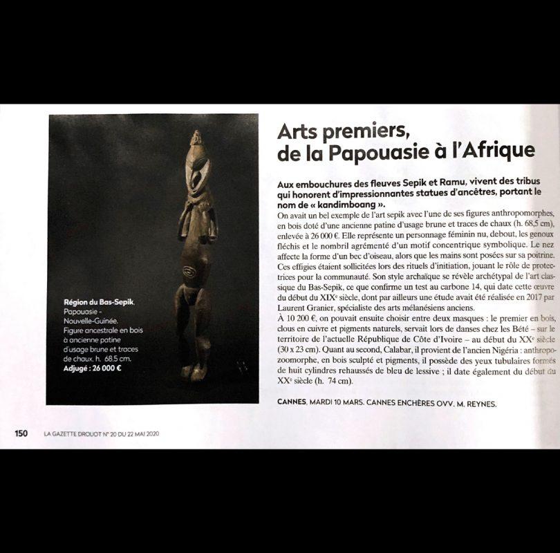 Arts Premiers, de la Papouasie à l'Afrique