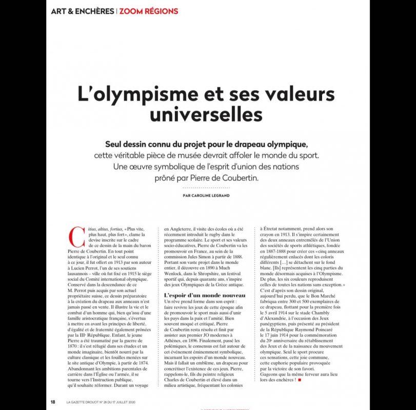 L'olympisme et ses valeurs universelles